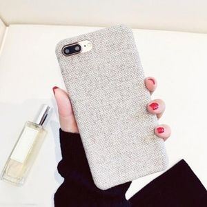 Canvas Phone Case for iPhone 8